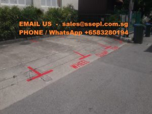 chlorinated rubber paint road marking