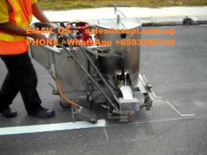 thermoplastic road marking paint contractors singapore